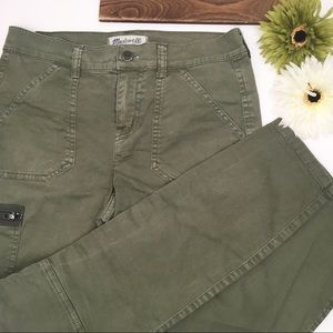 Green Madewell Fatigue Utility Cargo Pants Size 25